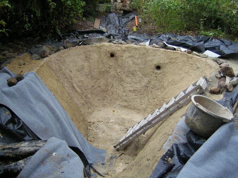 Teich selber bauen beton garten design ideen um ihr for Teich beton anleitung